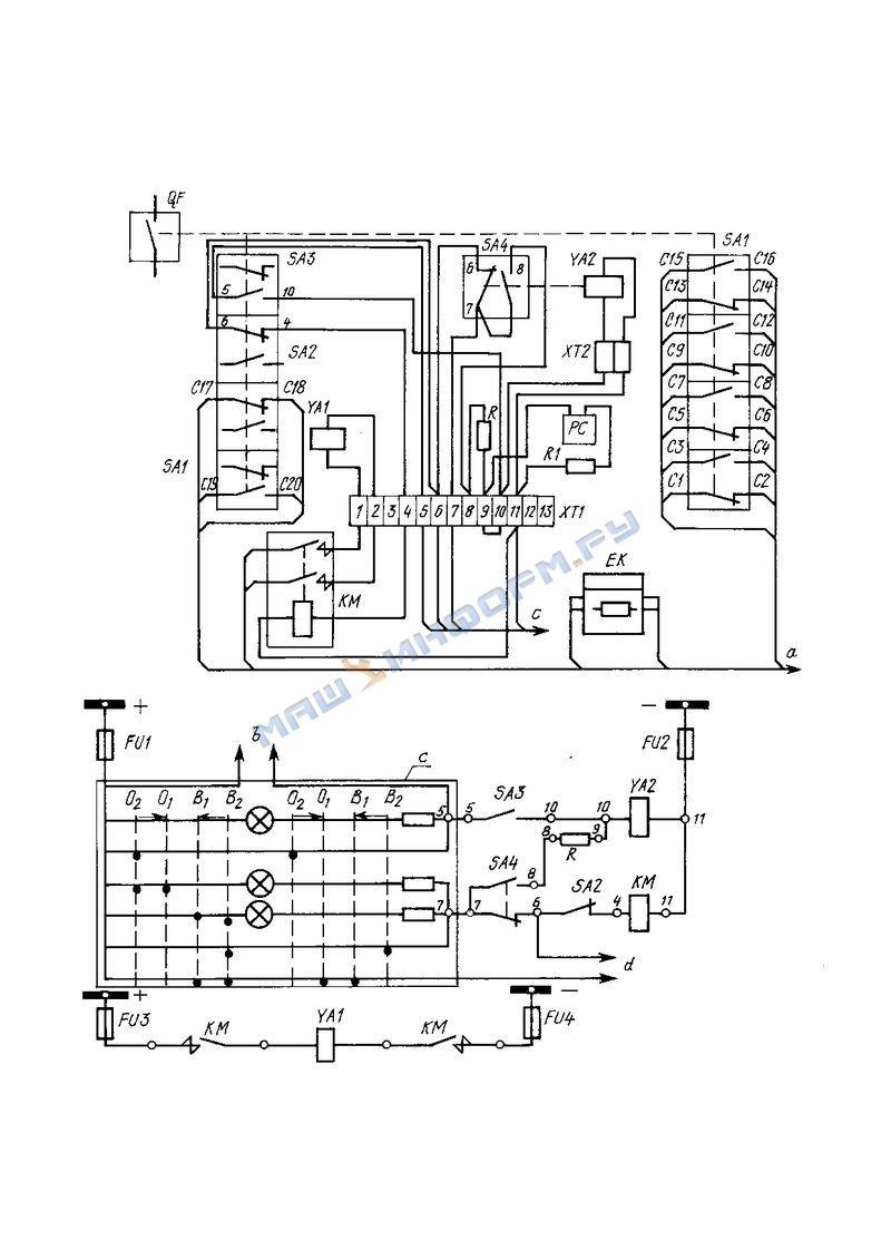 Схемы привода пэму-500