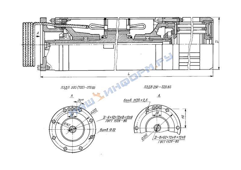 Двигатели асинхронные погружные водонаполненные 4ПЭДВ