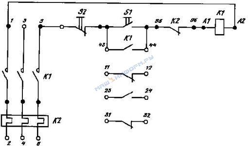 Обозначение на схеме стоповой кнопки