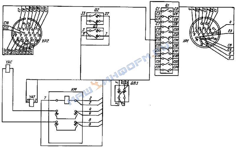 Электрической схемы т3