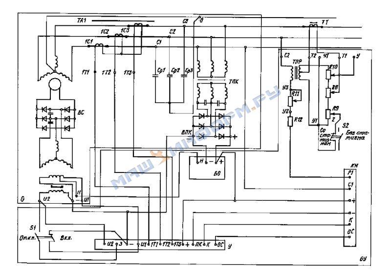 Счетчик реактивной энергии трехфазный схема подключения