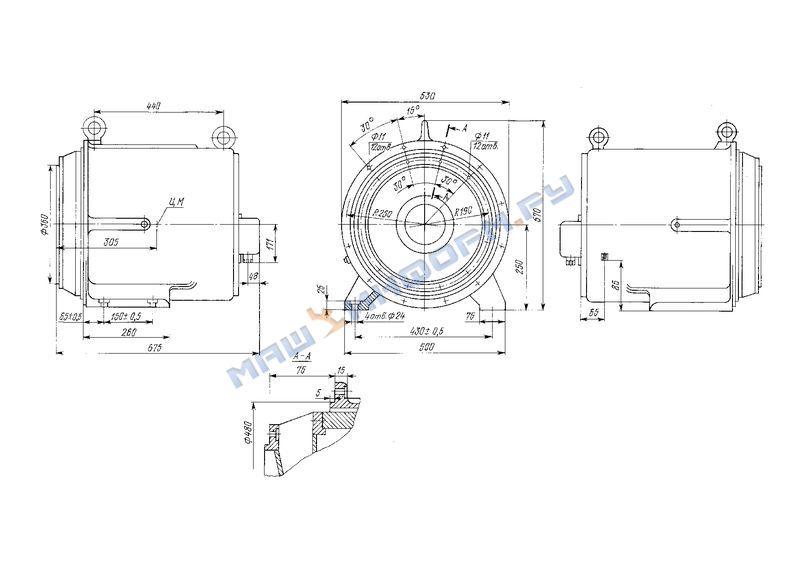 схема генератора синхронного игян 526454001