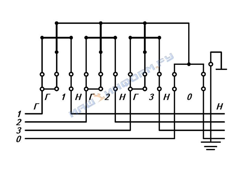 Схема подключения счетчика са3у