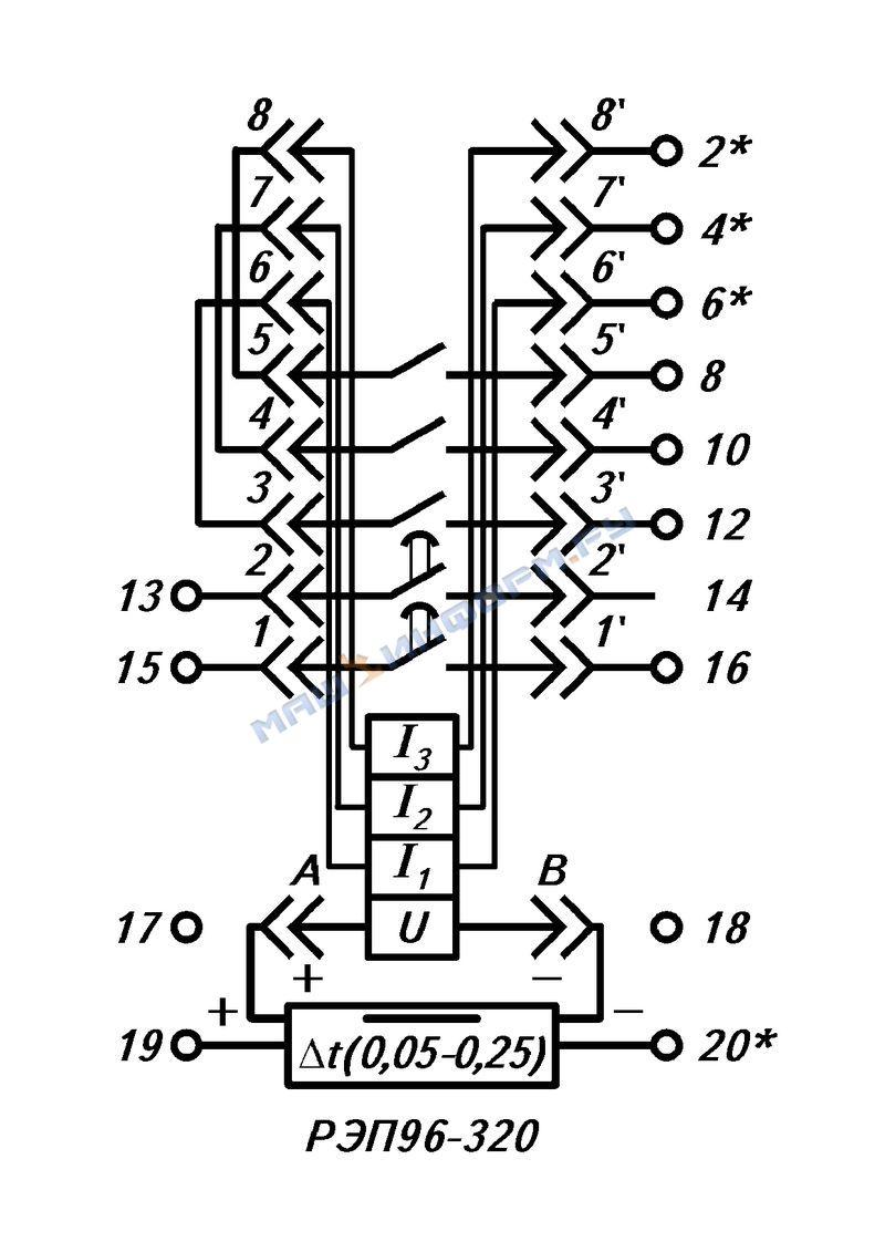 Принципиальные схемы электронных реле